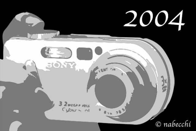 2004年デジカメ サイバーショット