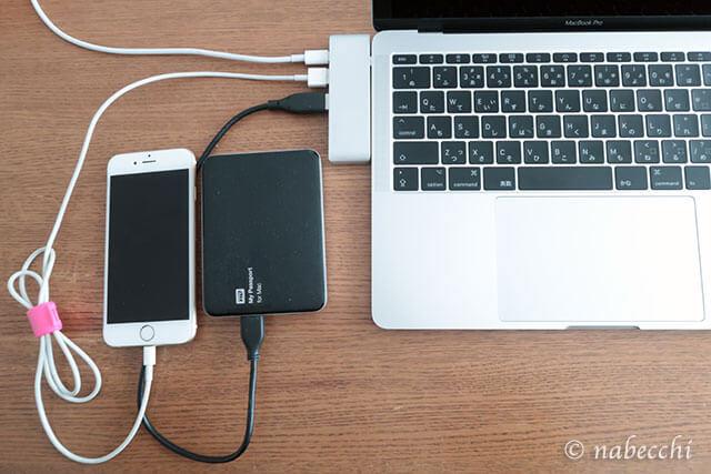 Eyansda USBハブ Type-C 接続