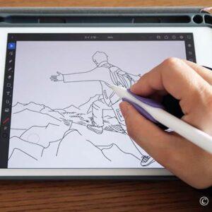 iPad mini で写真トレース