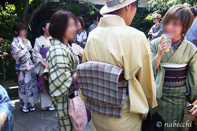 黄桜記念館で利き酒