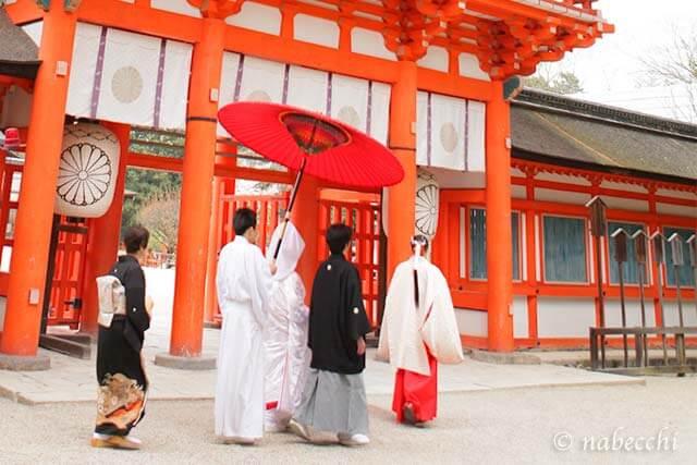 下鴨神社で人前式