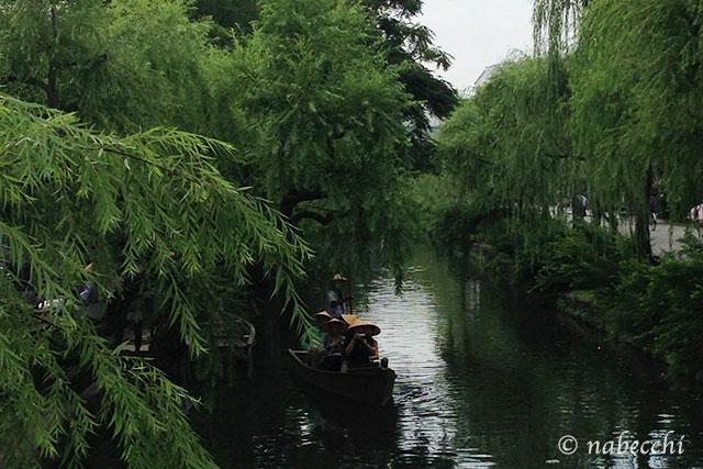 倉敷の小川