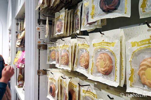 水曜日のアリス 大阪 クッキー売り場