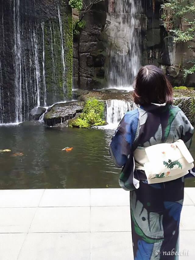雅叙園の滝