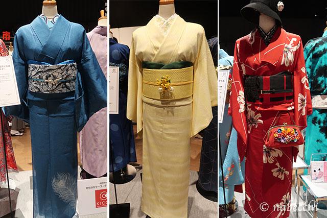 好きな着物コーディネート 東京キモノショー2019