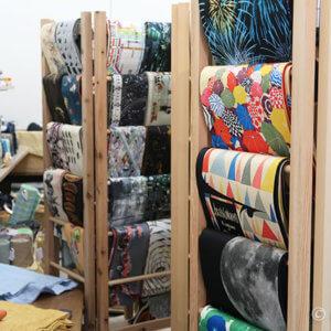 『居内商店』が船場センタービル7号館B1に。圧巻のアート帯や木綿着物