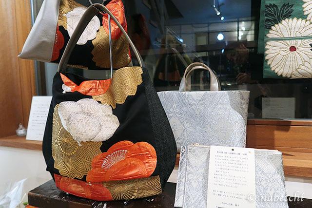 帯バッグ「ぬいもの屋 個々展」作品