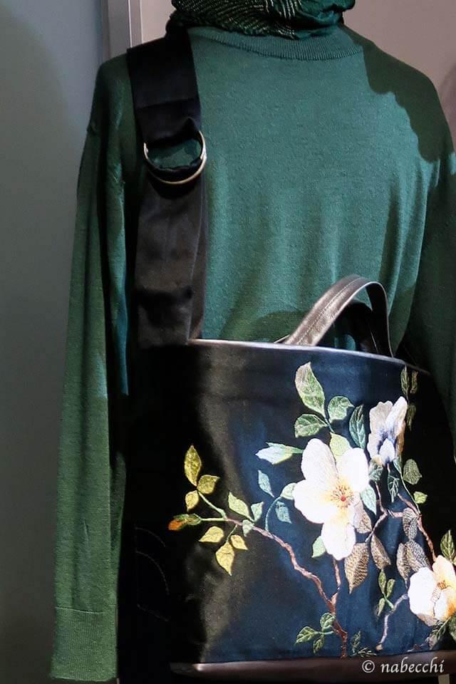 刺繍帯バッグ「ぬいもの屋 個々展」