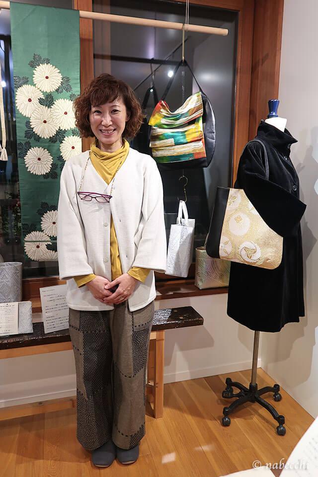 帯バッグ「ぬいもの屋 個々展」作家 岩本貴子さん