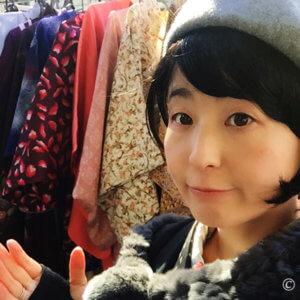 大江戸骨董市でリサイクル着物探し。鳥つながりで刺繍帯・帯留め購入