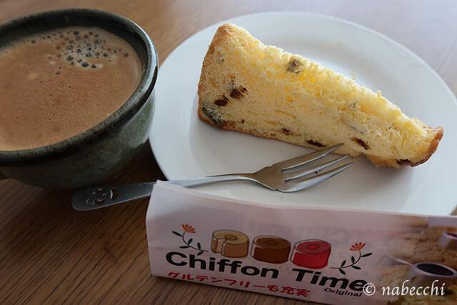コーヒーとChiffon Time