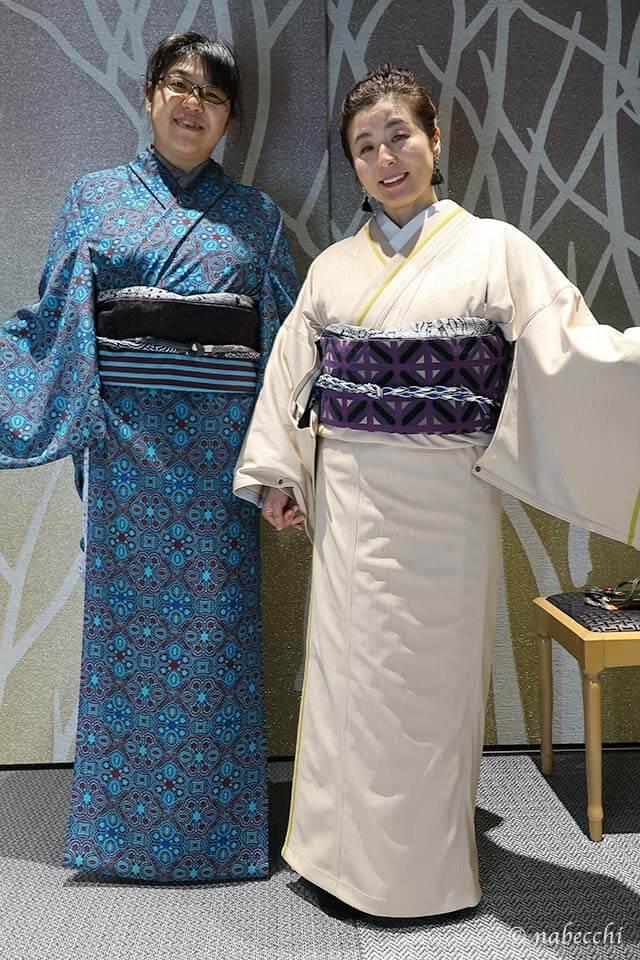 着物ブランド「JOTARO SAITO」銀座シックス店できせかえツーショット