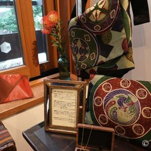 ぬいもの屋 個々「帯Bag展」真鍮持ち手のコラボ作品に衝撃