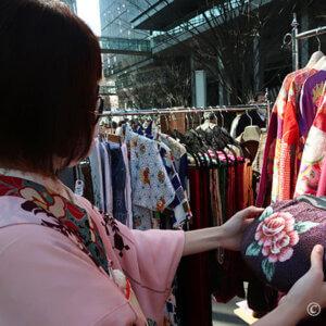 アンティーク着物好きさんにお勧め3ショップ in 大江戸骨董市
