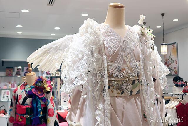 豆千代モダン「天使ような着物コーデ作品」