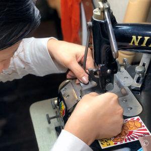 型紙を正確に切り出す練習 – 浅草レザークラフト教室3