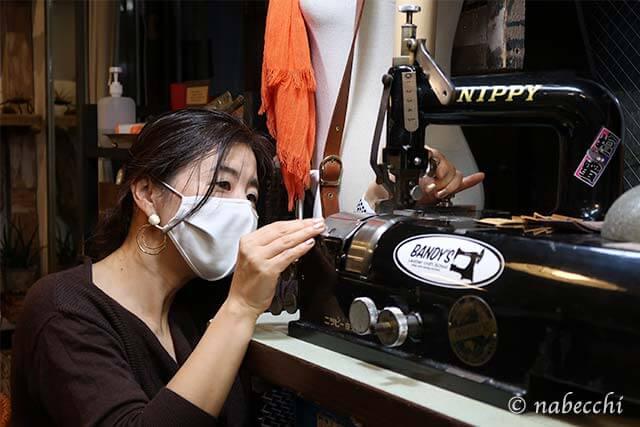 革漉き機の調整