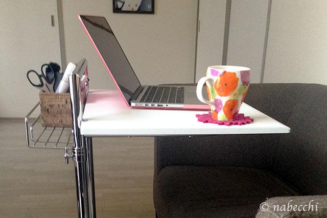 パソコン用に最適 サイドテーブル