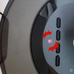 ルンバ870 赤い警告サイン点滅 楽ちんゴミ捨て 5日で大量