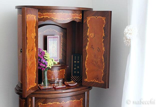象嵌細工のイタリア製現代仏壇「マリア」