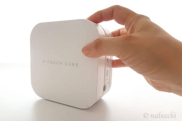 シンプルなデザイン P-TOUCH CUBE