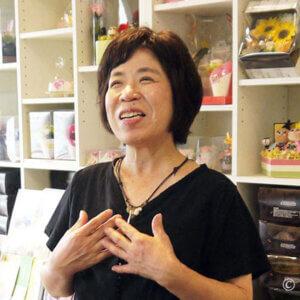 フラワーショップ「サンドロット」代表 谷口さん