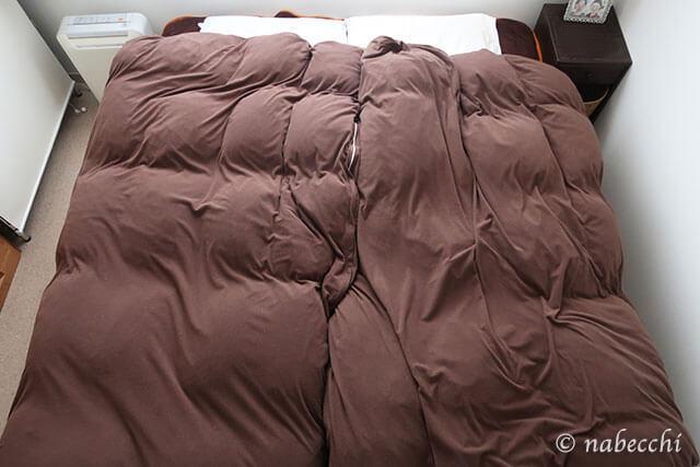 冬フリース寝具カバー