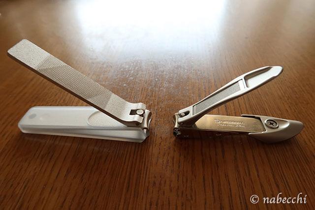 爪切り 無印良品と匠の技