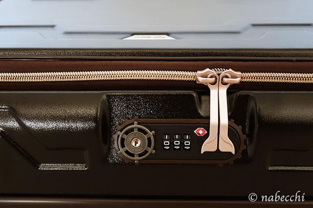 尾びれと船のハンドルデザインが可愛い ダイヤル式TSAロック レジェンドウォーカー スーツケース 5205