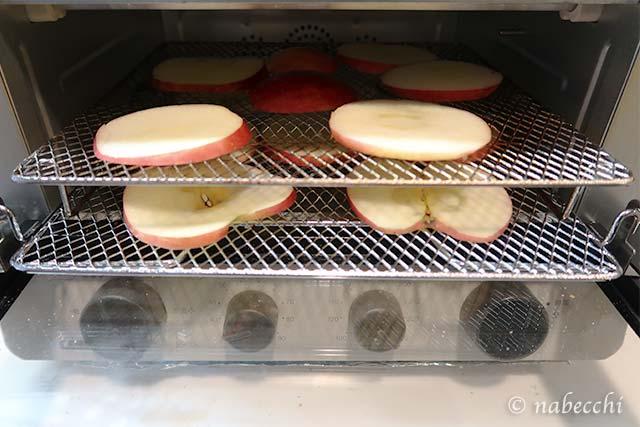 TSF601低温コンベンションオーブンに編みを2段でセット