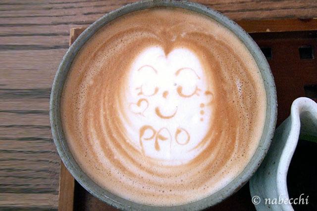 ラテアート ならまちカフェ「PAO」
