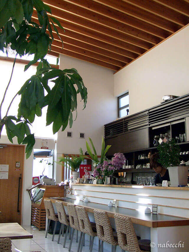 ならまちカフェ「PAO」店内