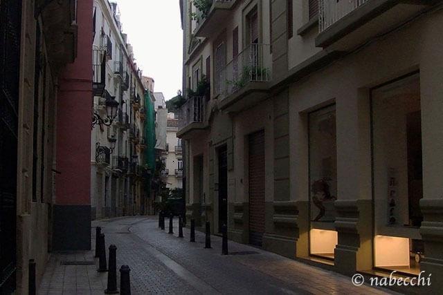 朝のバレンシア市街