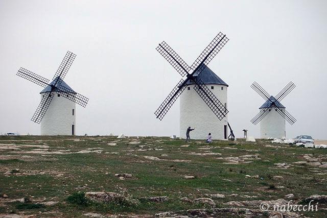 ラ・マンチャ地方 風車