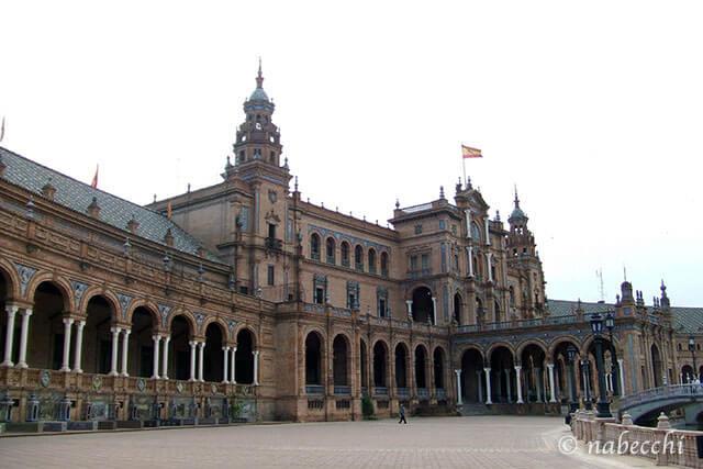 セビリア スペイン広場