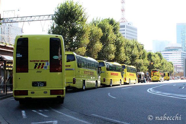 はとバス 東京駅前