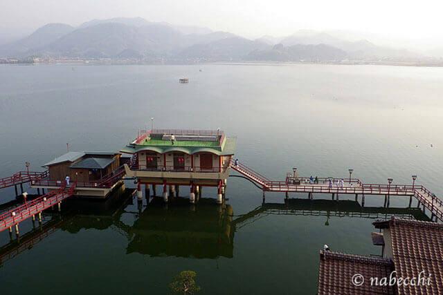 羽合温泉 望湖楼 露天風呂