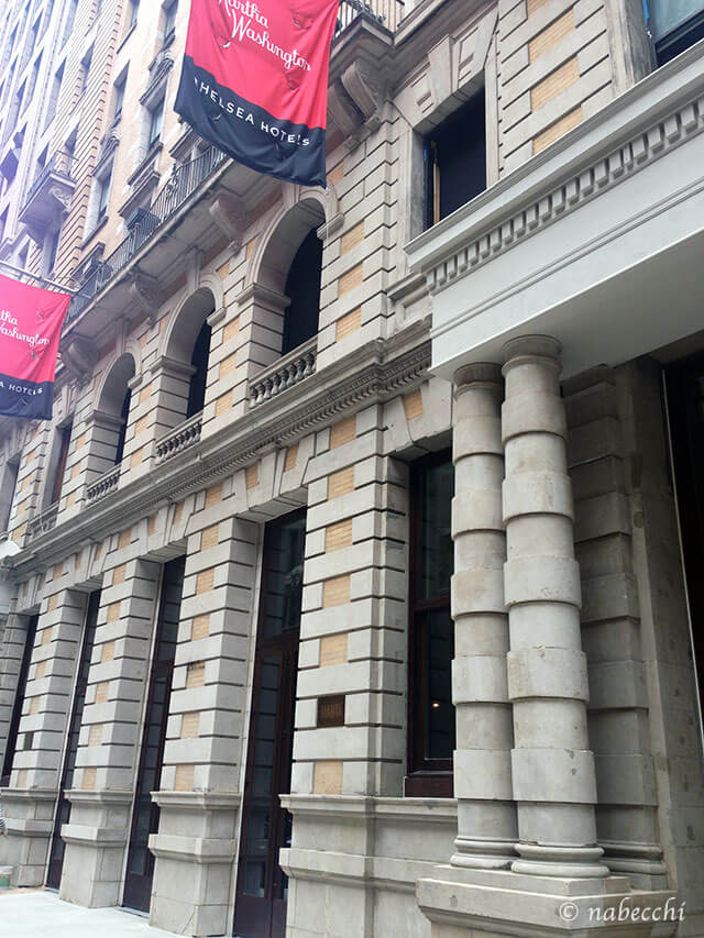ザ レッドベリー ニューヨークホテル外観