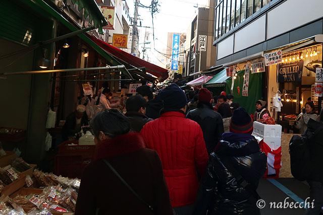 12月30日 築地場外市場