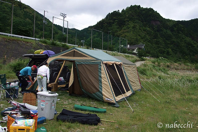 熊野川キャンプ