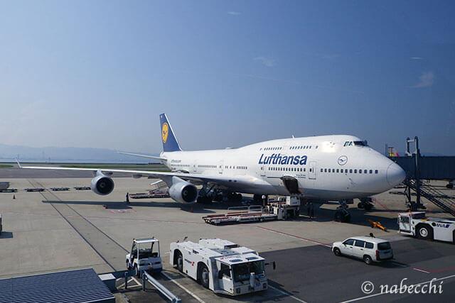 ルフトハンザ飛行機 関西空港