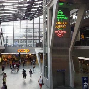 スーパーCOOPルツェルン駅店で初めての買い物-スイス旅行1日目