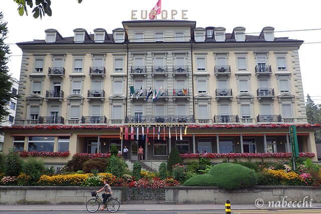スイス・ルツェルン『Grand Hotel Europe』