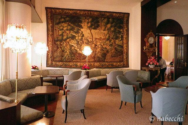 スイス・ルツェルン『Grand Hotel Europe』ロビー