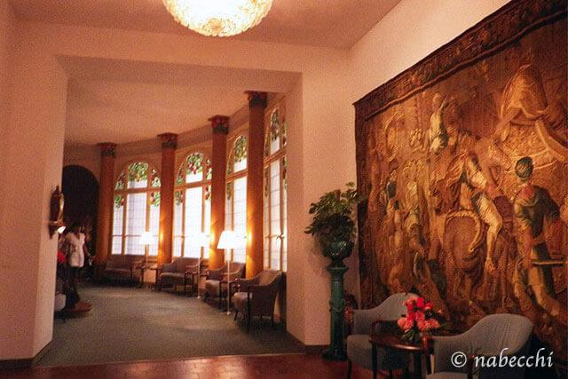 スイス・ルツェルン『Grand Hotel Europe』廊下