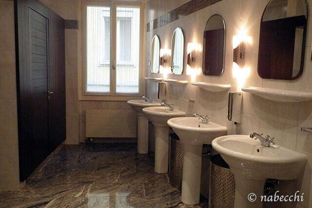 スイス・ルツェルン『Grand Hotel Europe』トイレ