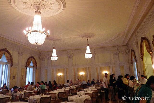 スイス・ルツェルン『Grand Hotel Europe』食堂