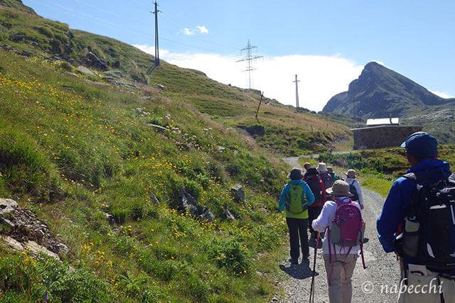 ベルニナ線ハイキング