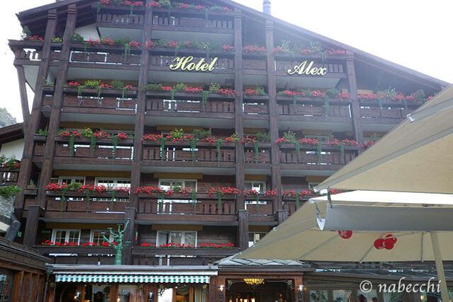ツェルマット ホテル「ALEX(アレックス)」