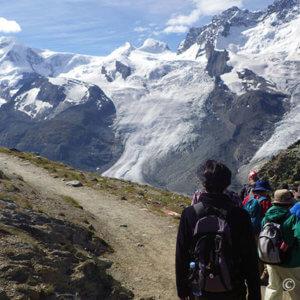 逆さマッターホルンと迷子の下山ハイキング -スイス旅行7日目